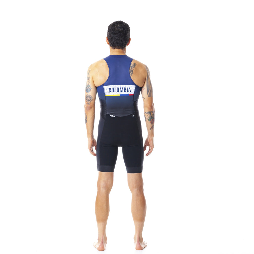 Pre-order Monument II - Sportivo Colombia - Triathlon Skinsuit. Men