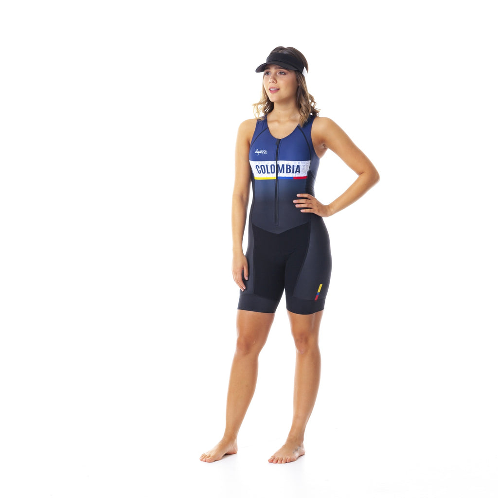 Pre-order Monument II - Sportivo Colombia - Triathlon Skinsuit. Women
