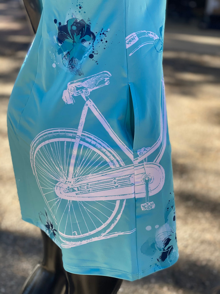 VENEZ - Dress - Cruise Bike Light Blue