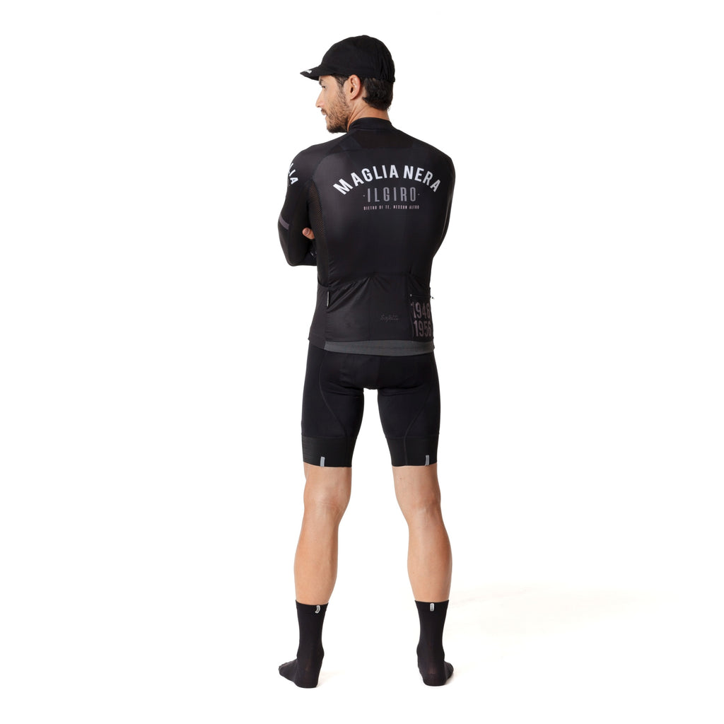 Pre-order Monument II - Maglia Nera - Long Sleeve Jersey. Men