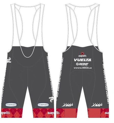 Pharmaco Georgia - Printed Cycling PLATINUM Bib Short. Men