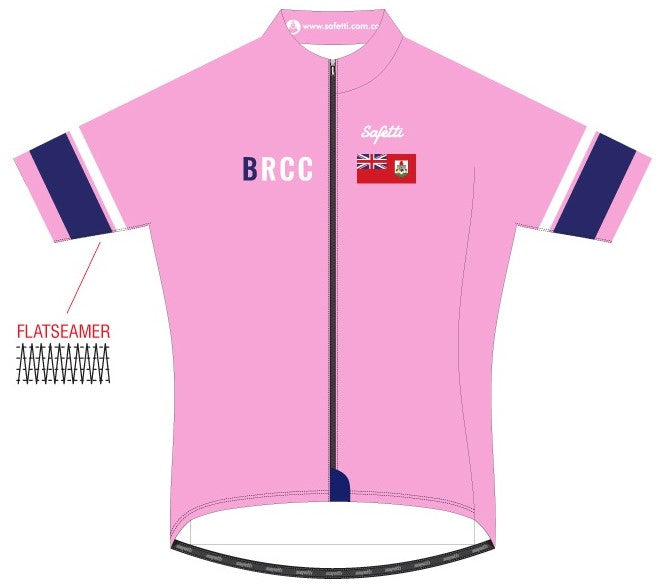 BRCC - Lombardia Pink Short Sleeve Cycling Jersey. Women