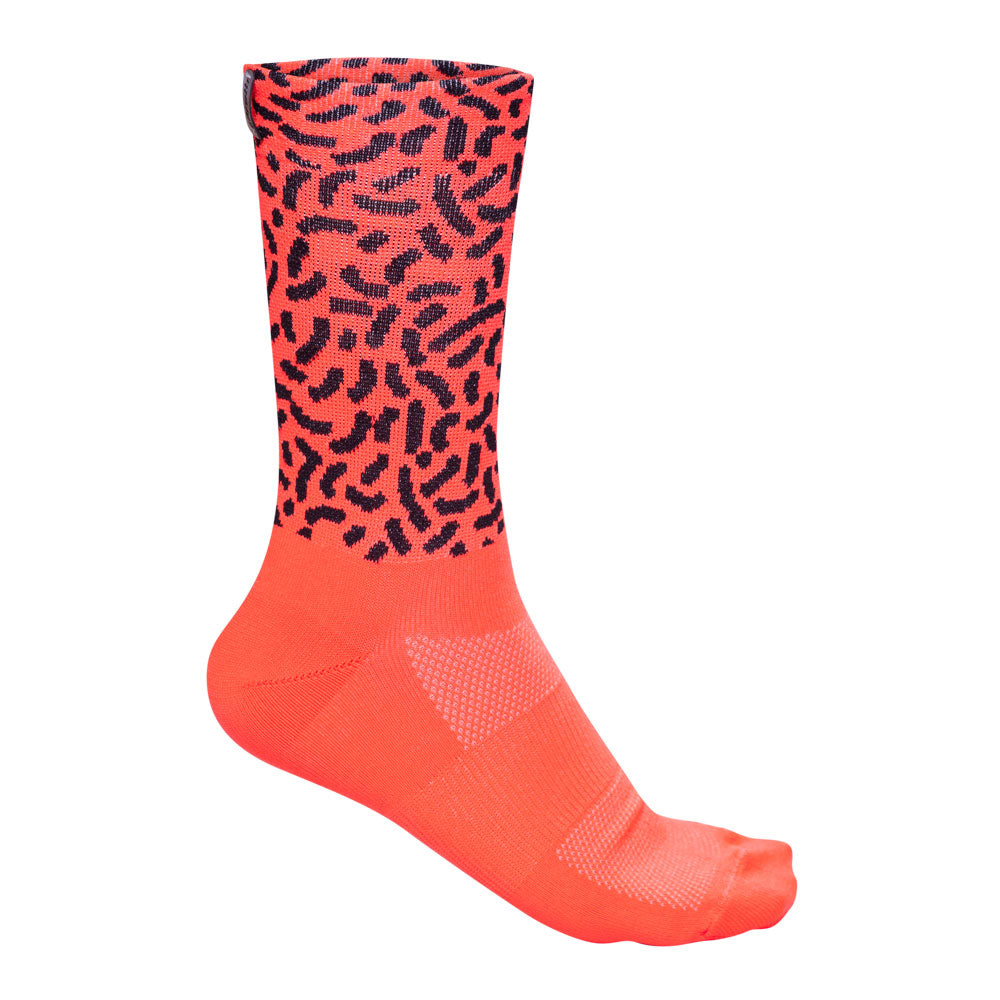 ESP'18 - Retro Basic Coral - Cycling Socks. Women