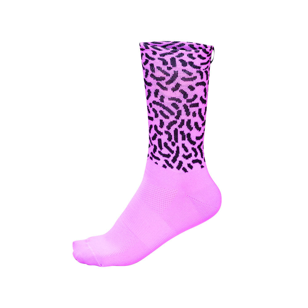 ESP'18 - Retro Basic Puple - Cycling Socks. Women