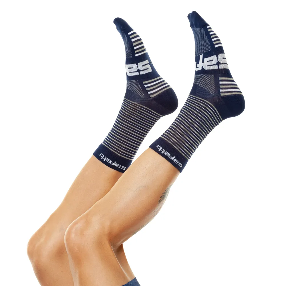 Trascendenza - Colors Trascendenza Blue - Cycling Socks. Unisex