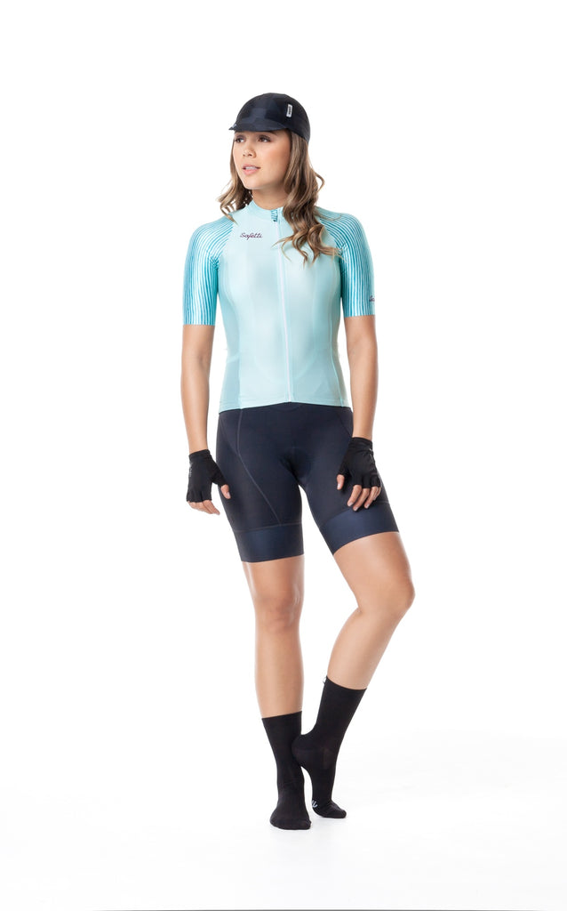 Monument'19 - Ineffable - Green -  Short Sleeve Jersey. Women