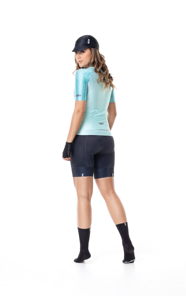 Pre-order Monument'19 - Ineffable - Green -  Short Sleeve Jersey. Women