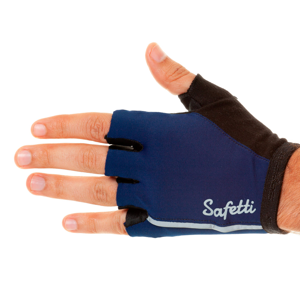 Trascendenza - Essenziale Blu - Cycling Gloves. Unisex