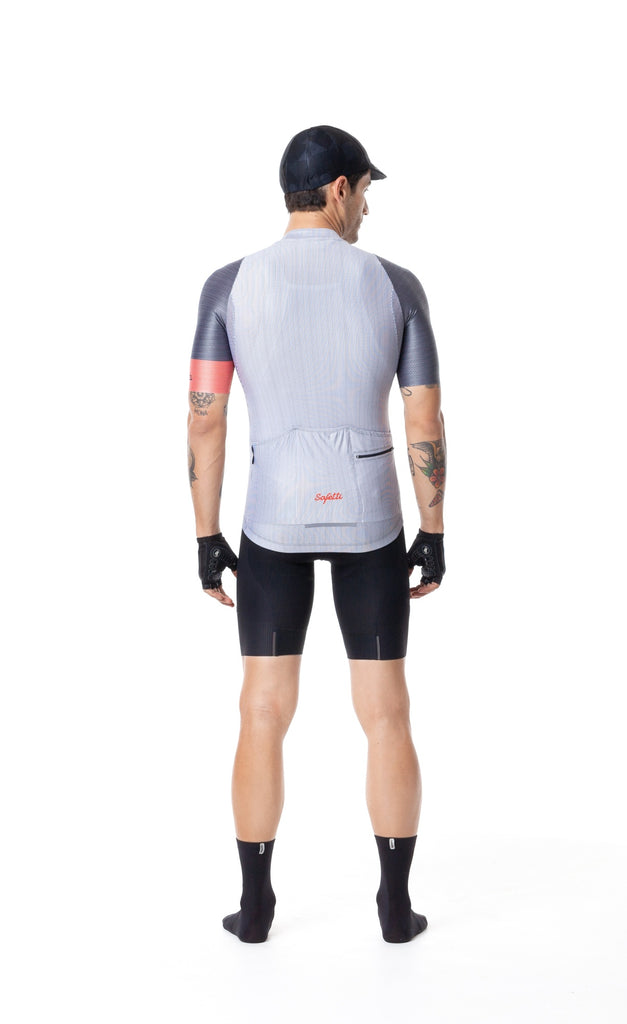Pre-order Monument'19 - Ciottoli - White -  Short Sleeve Jersey. Men
