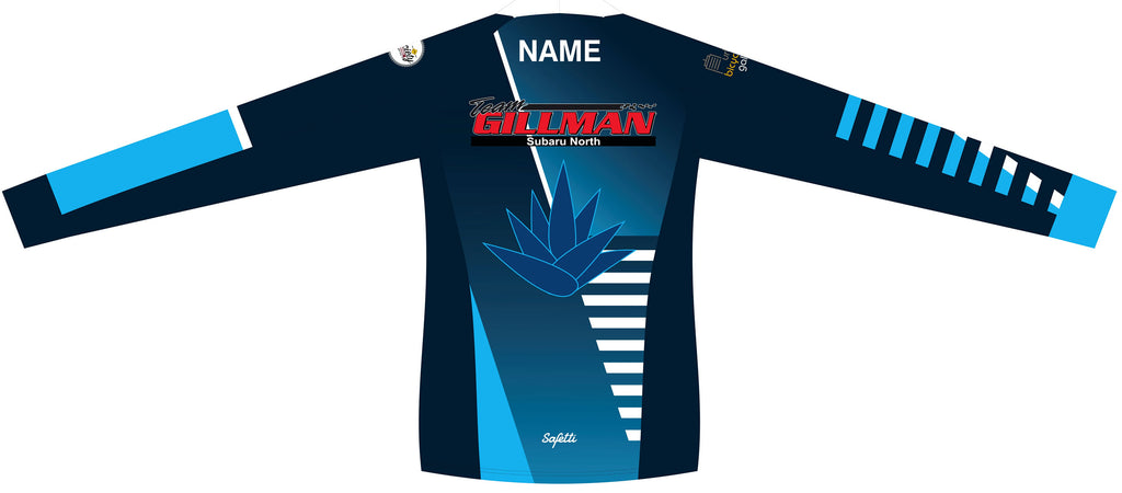 Blue Agave Cycling - MTB Long Sleeve Jersey. Women