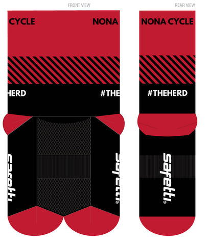 Nona Brew - Cycling Socks (2 pairs pack). Unisex