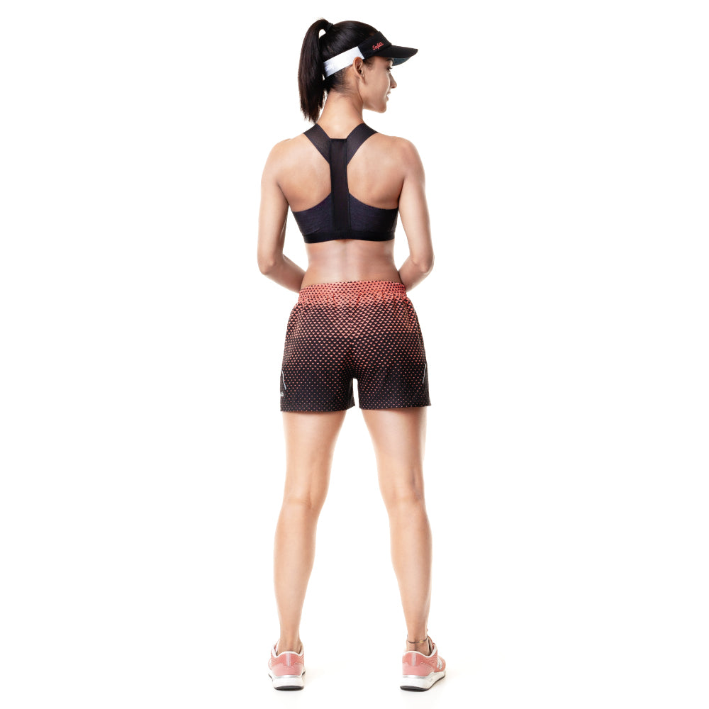Sunset Running - Resilience - Running Shorts. Women