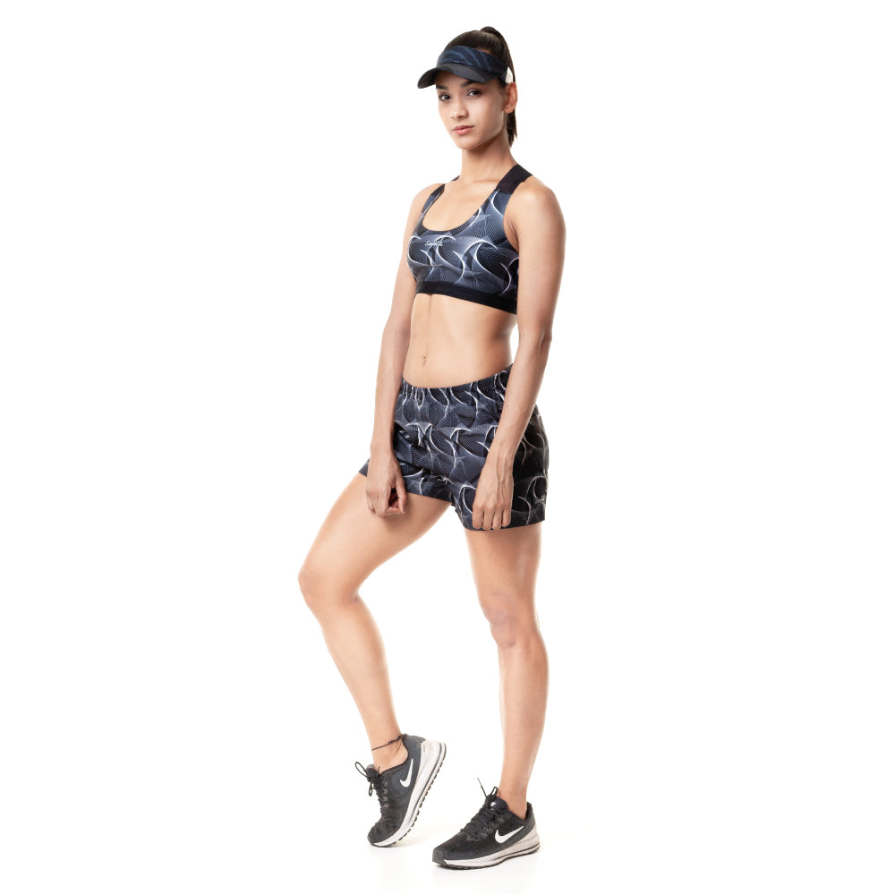 Sunset Running - Indomite - Running Shorts. Women