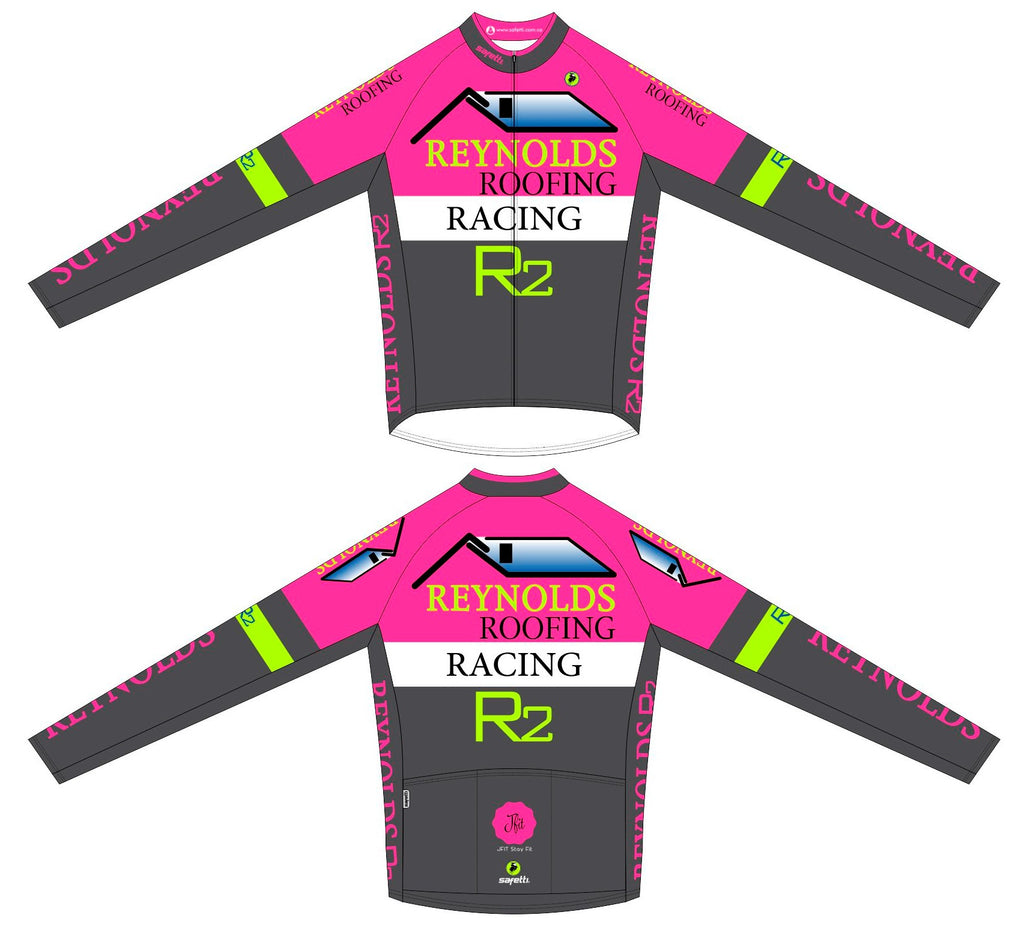 Reynolds Roofing - Pink Winter Jacket Unisex