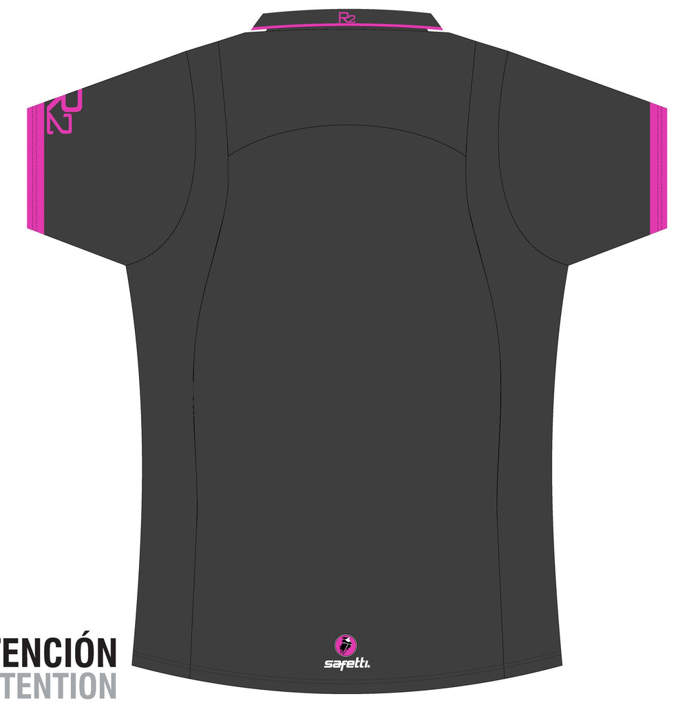 Reynolds Roofing - Pink Polo Jersey. Men