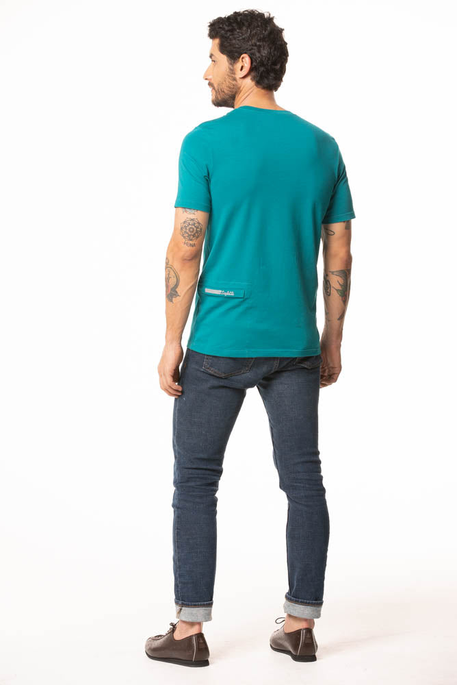 Pre-order L'Infinito - Scudo - Urban T-Shirt - Green. Men