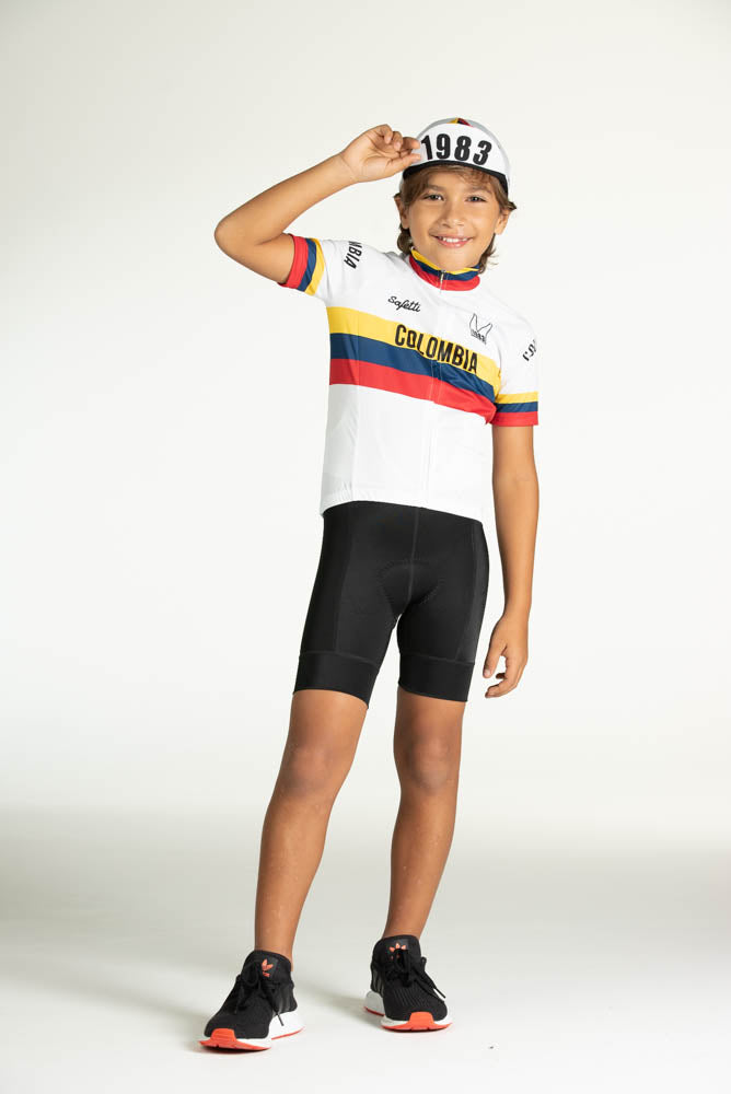 Pre-order L'Infinito - Colombia Varta - Cycling Jersey. Junior
