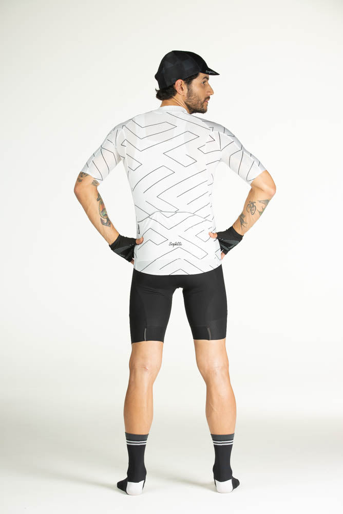 Pre-order L'Infinito - Notte Bianco - Short Sleeve Jersey. Men