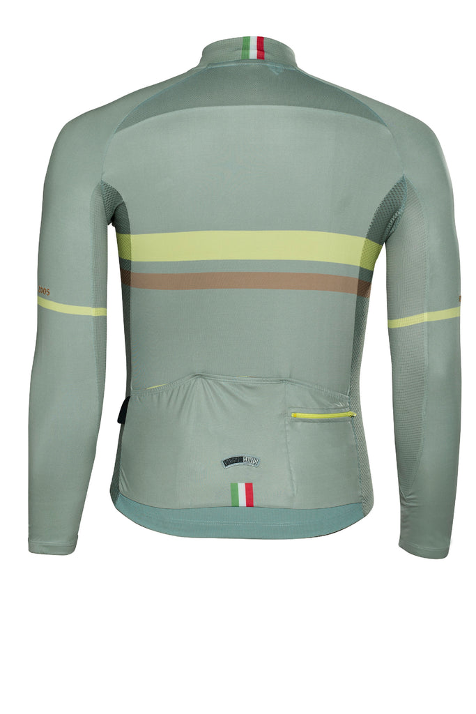Preorder - Safetti Club Green - Long Sleeve Jersey. Men