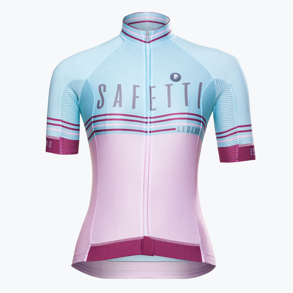 Preorder - Safetti Team Legend Gelato - Short Sleeve Jersey. Women