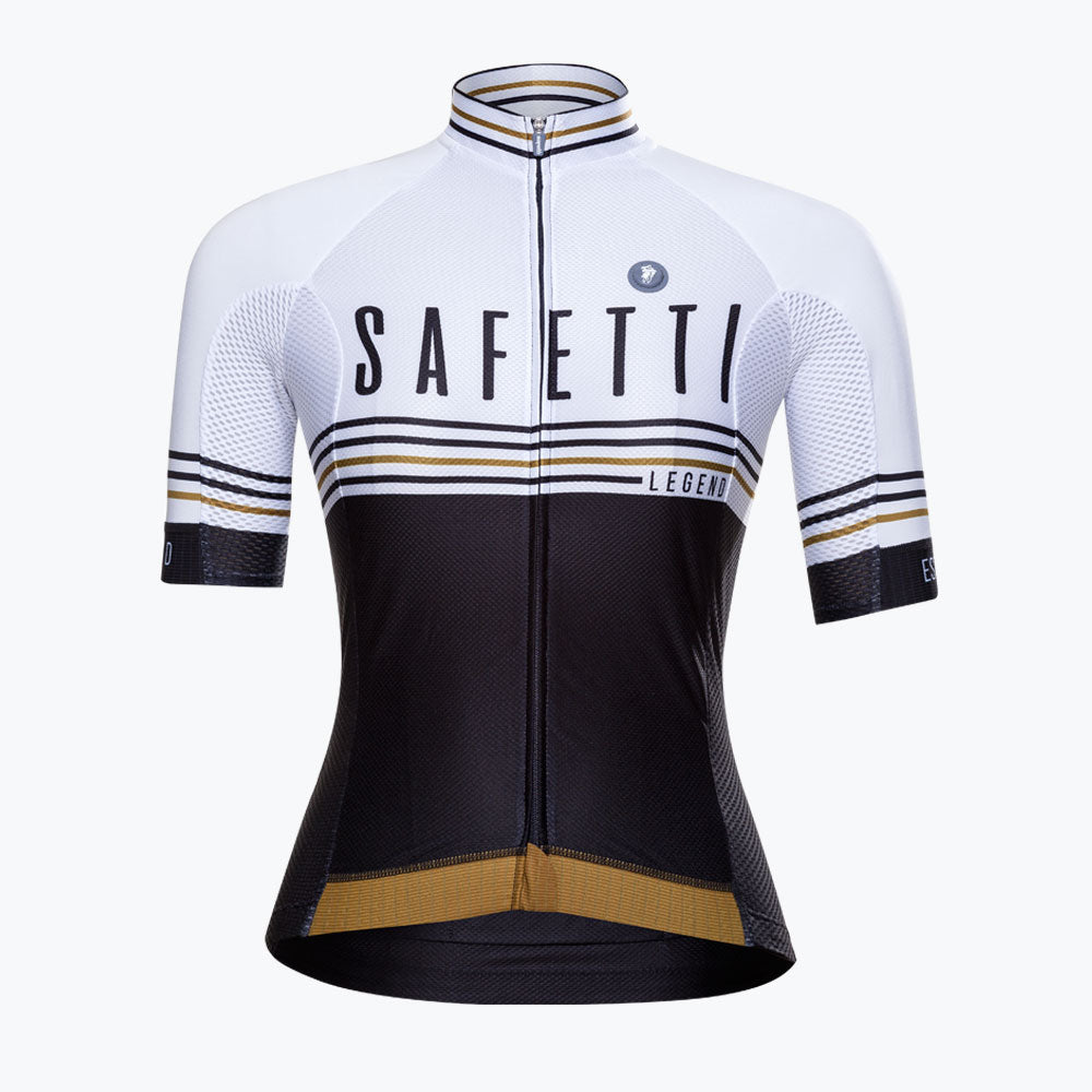 Preorder - Safetti Team Legend White - Short Sleeve Jersey. Women