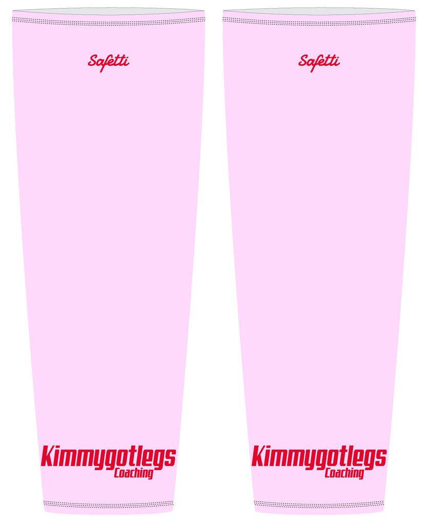Kimmygotlegs - Pink Thermal Leg Warmers. Unisex