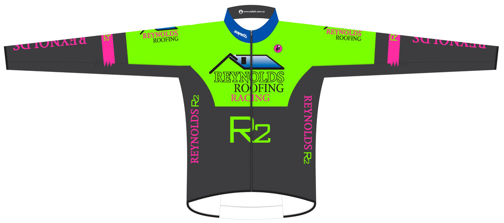 Reynolds Roofing - Green Rebel Cycling Jacket. Women