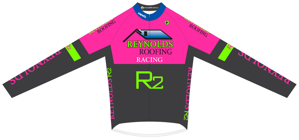 Reynolds Roofing - Pink Winter Jacket. Unisex