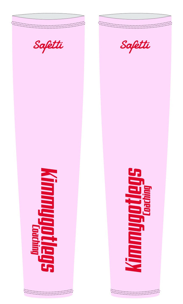 Kimmygotlegs - Pink Thermal Arm Warmers. Unisex