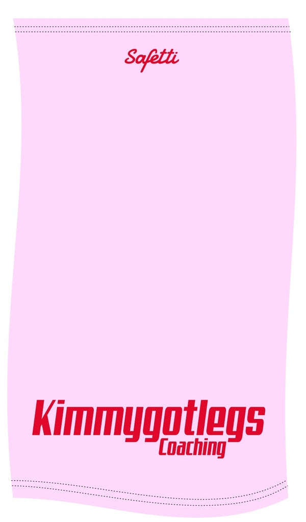 Kimmygotlegs - Pink Face Protector (Buff). Unisex