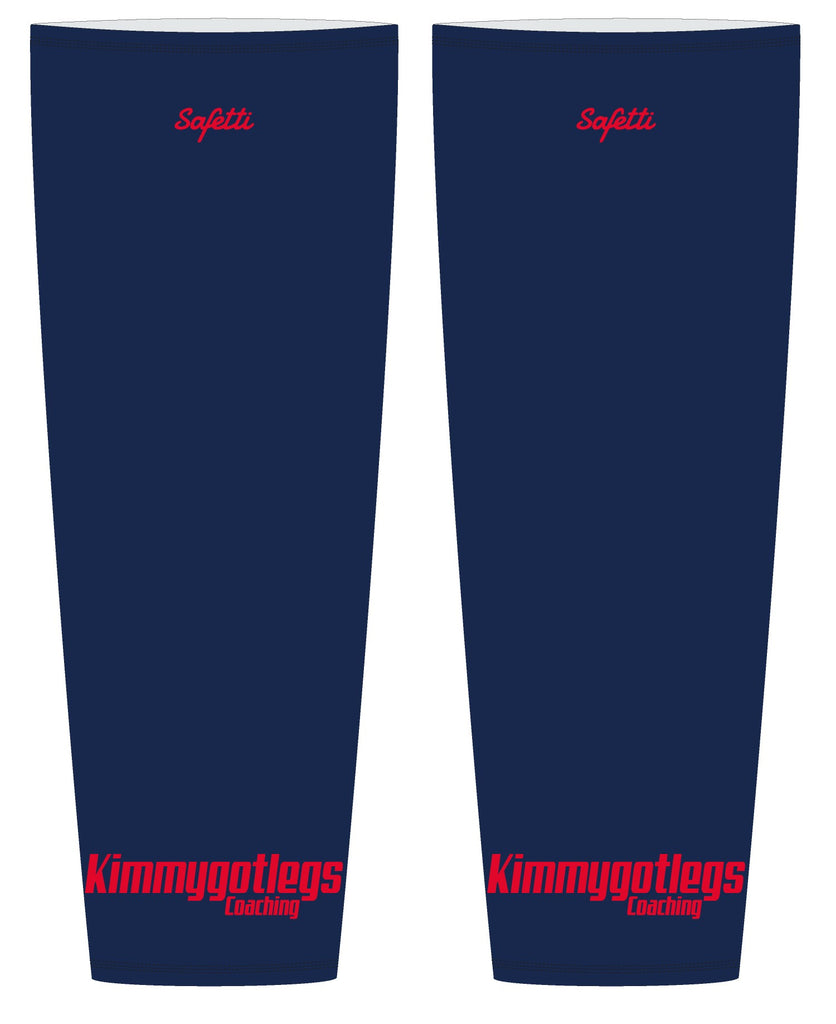 Kimmygotlegs - Blue Thermal Leg Warmers. Unisex