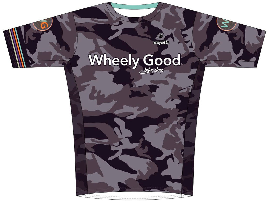 Wheely Good - Sicilia Running Shirt. Men