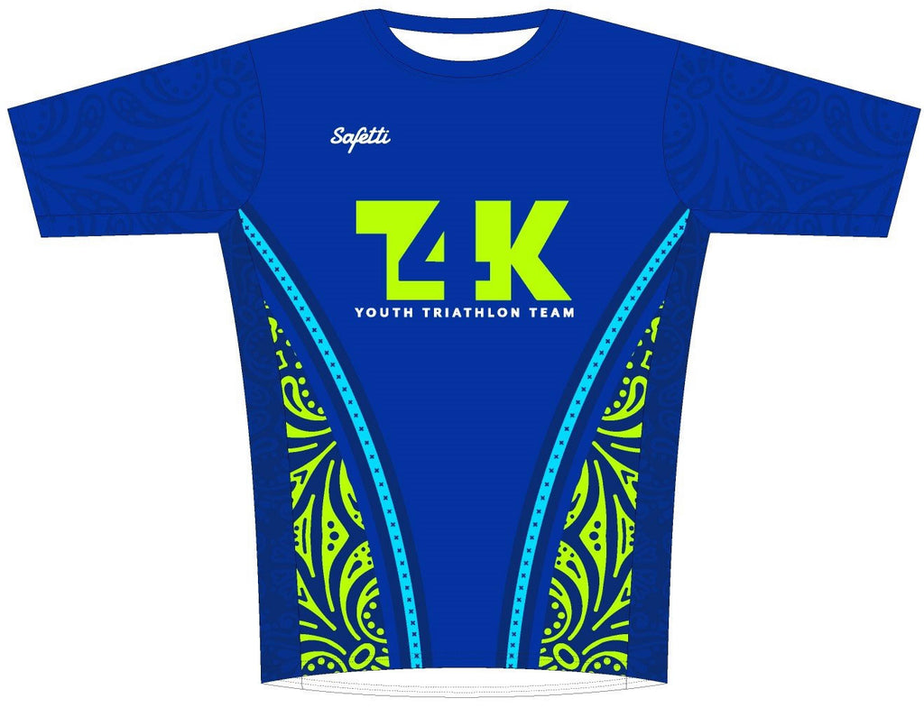T4K - Sicilia Short Sleeve Running Shirt. Men