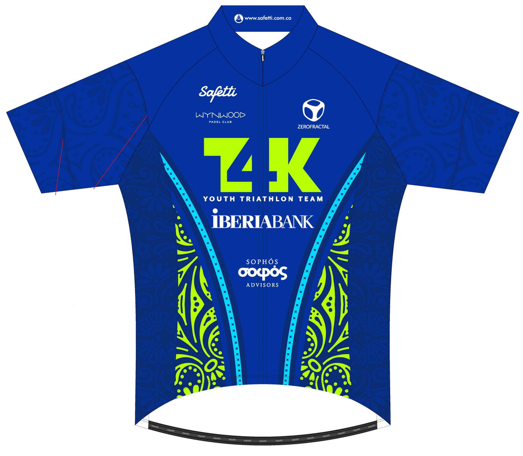 T4K - Basic Cycling Jersey Junior