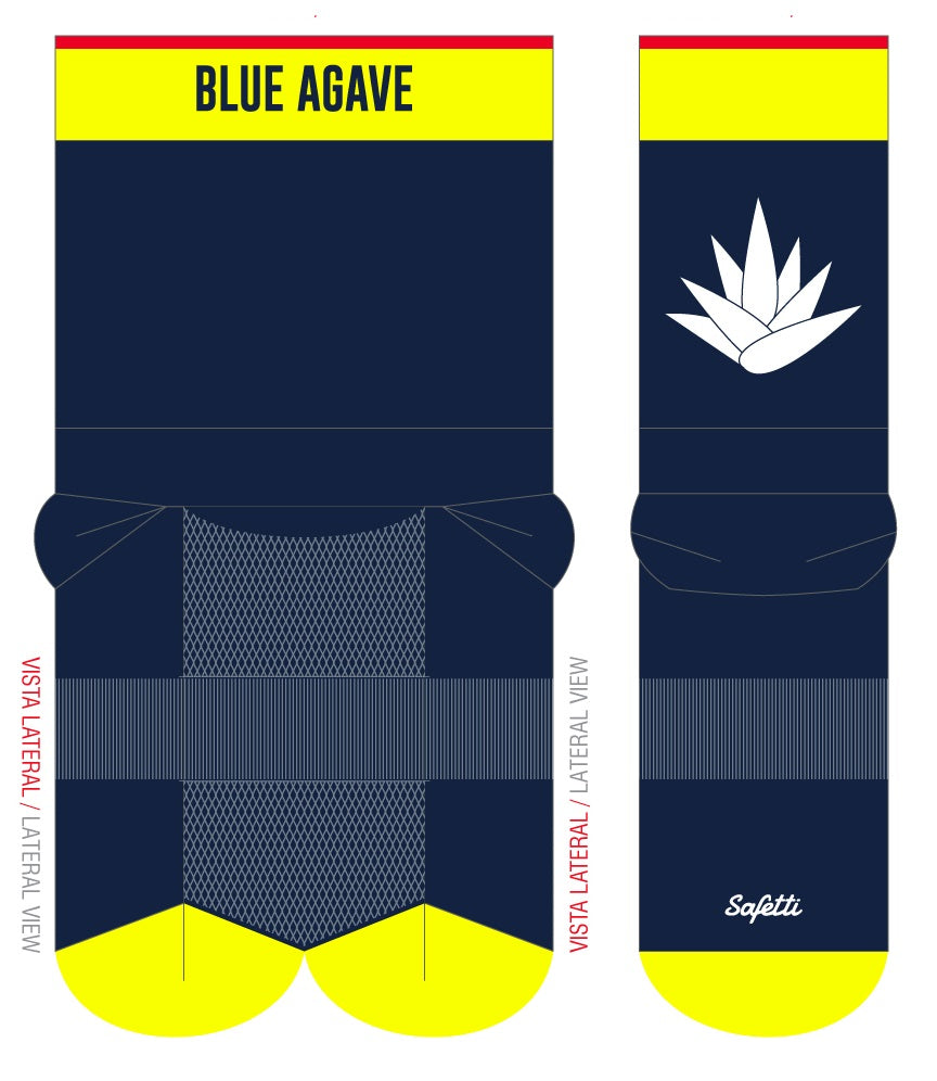 Blue Agave Cycling - Cycling Socks -0- . Unisex