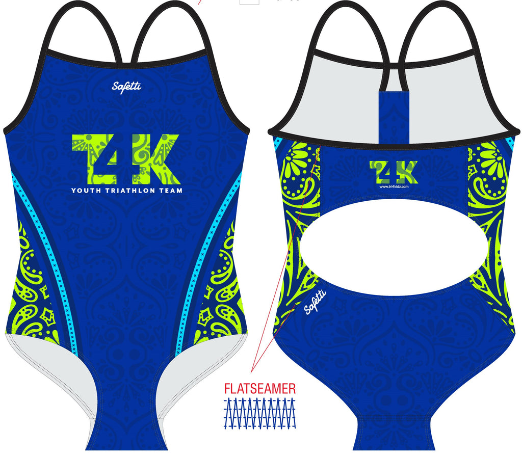 T4K - Ibiza Acquazero Olympic Swimsuit. Women