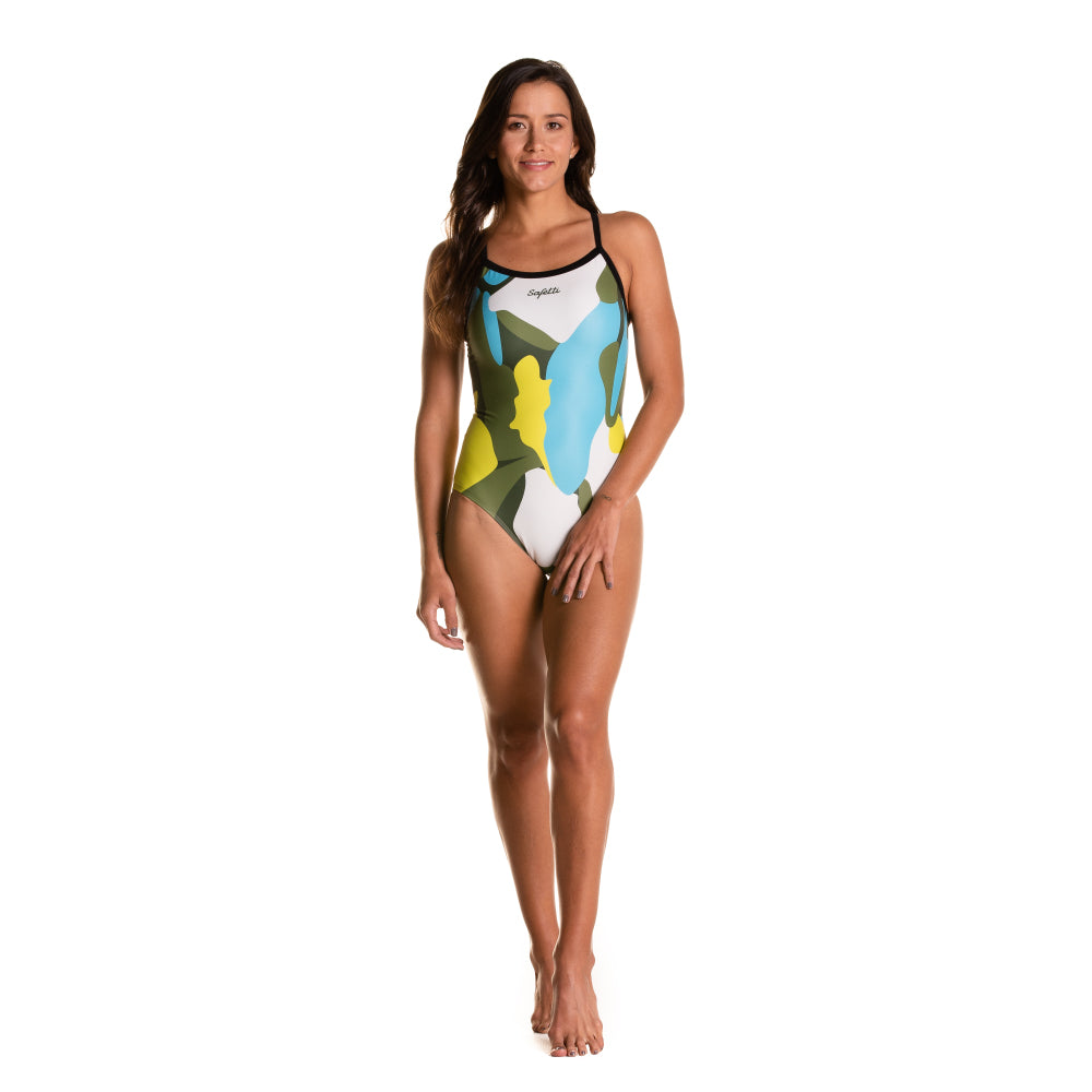 Pre-order- Summer Days - Mangrovie - Swimsuit. Women