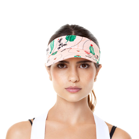 INM-II'18 - Spinosa - Cycling Visor Cap. Women