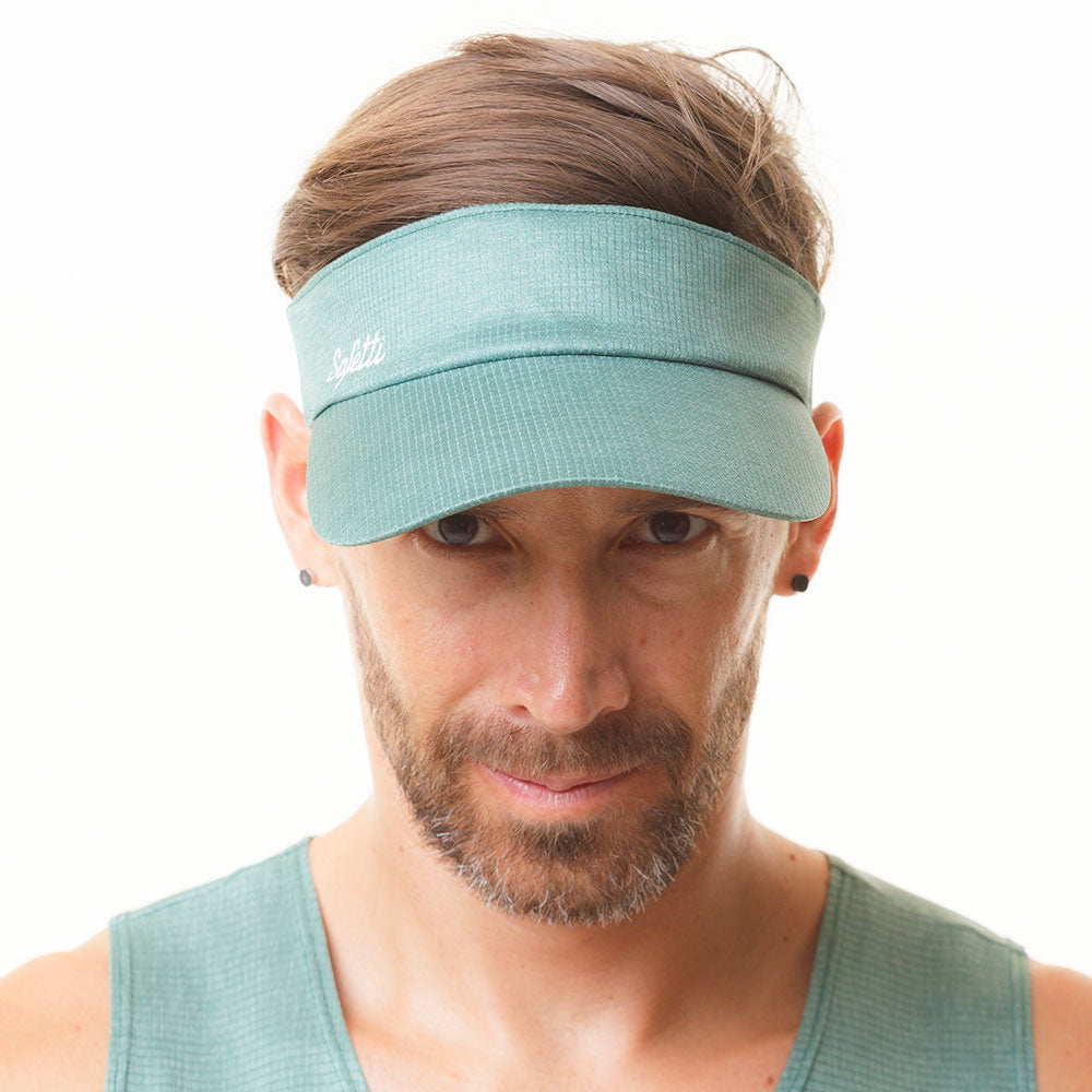 Sunset Running - Resilience - Cycling Visor Cap. Men