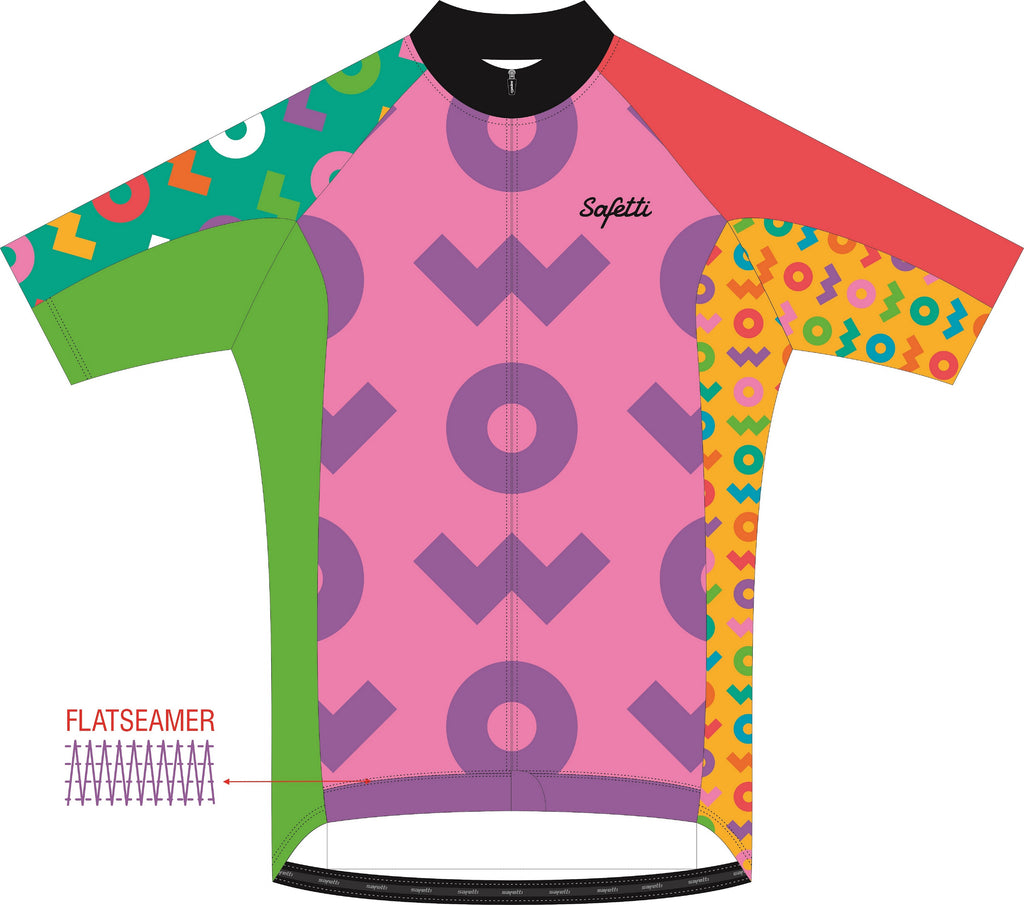 WOW - Firenze Short Sleeve Cycling Jersey DSG2. Women