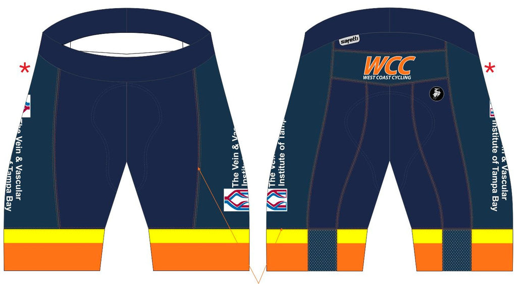 WCC - Bio Cycling Bib Shorts H. Women (Shorter Version)