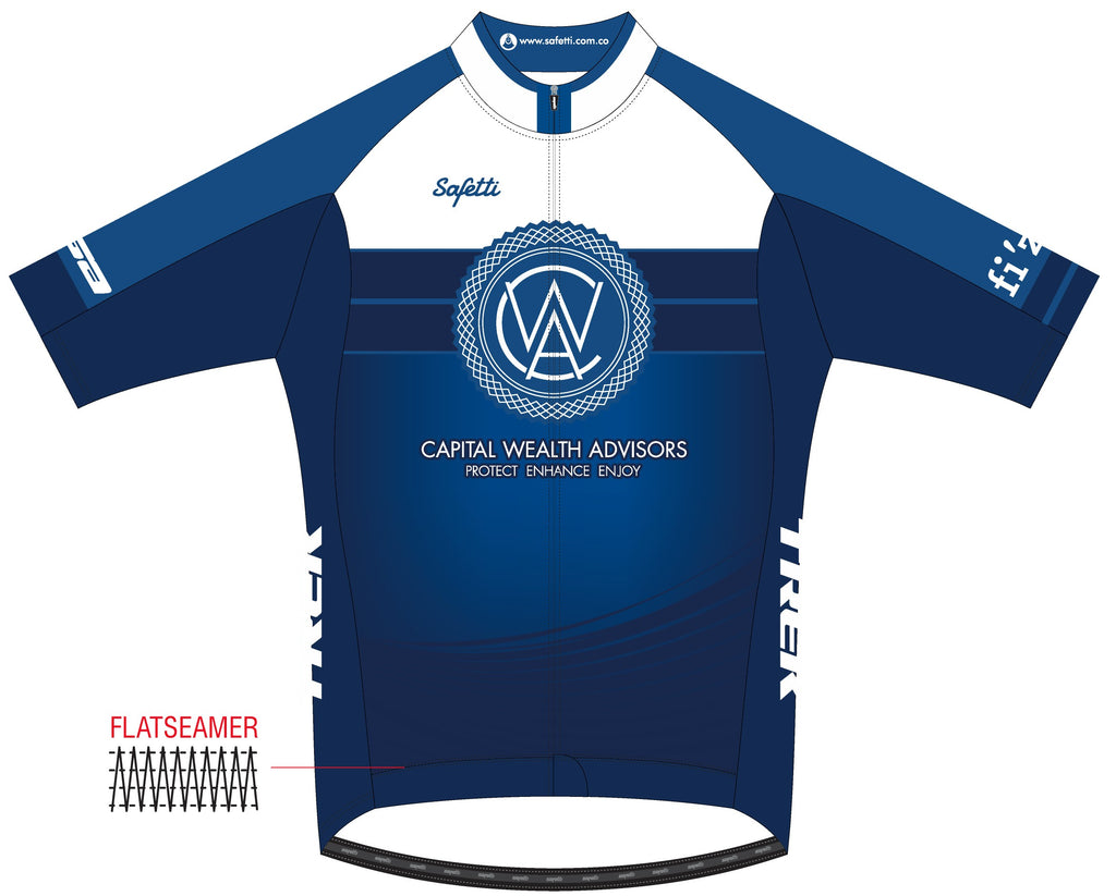 CWA Flamingo Racing - Firenze Ombre Short Sleeve Cycling Jersey. Men