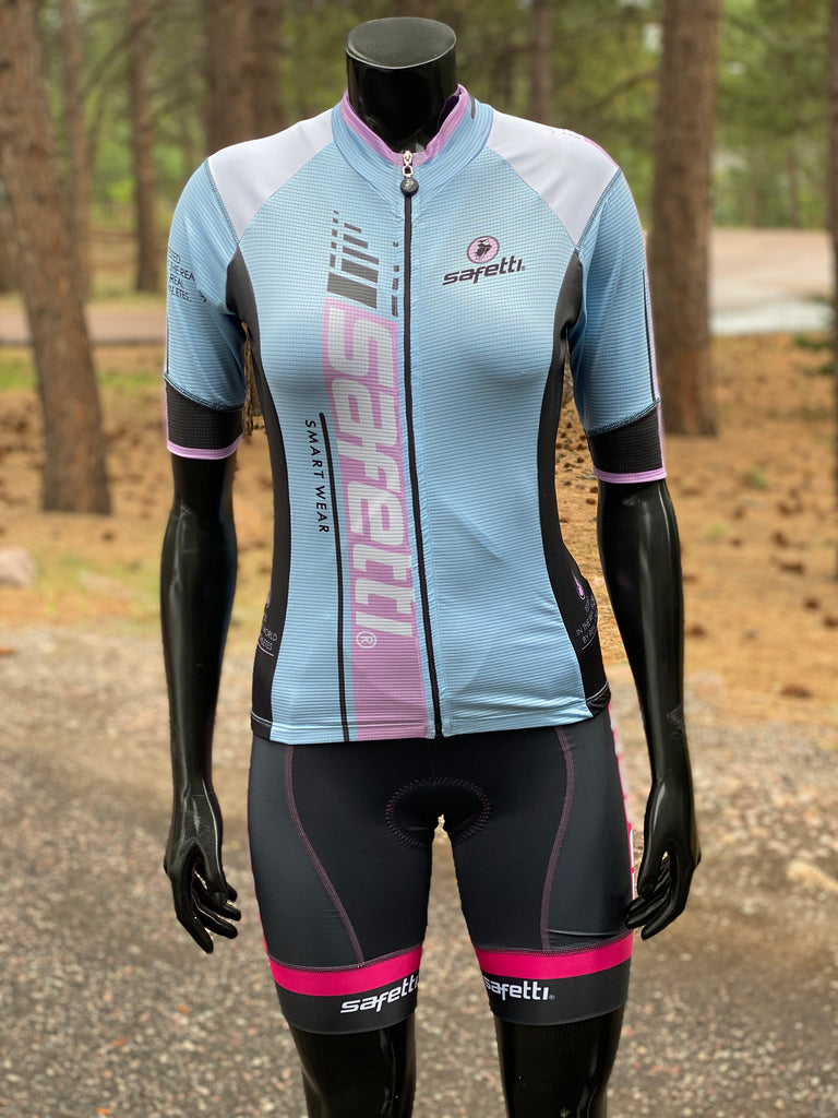 Safetti Light Blue Kit. Women