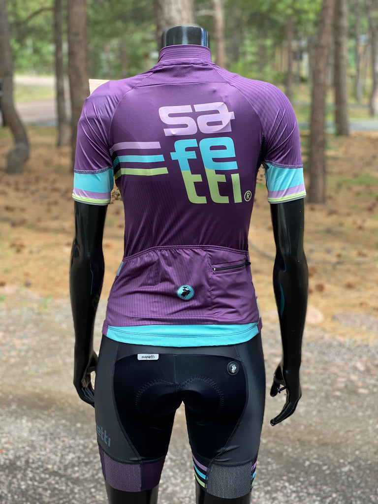 Safetti Retro Light Jersey Purple. Women