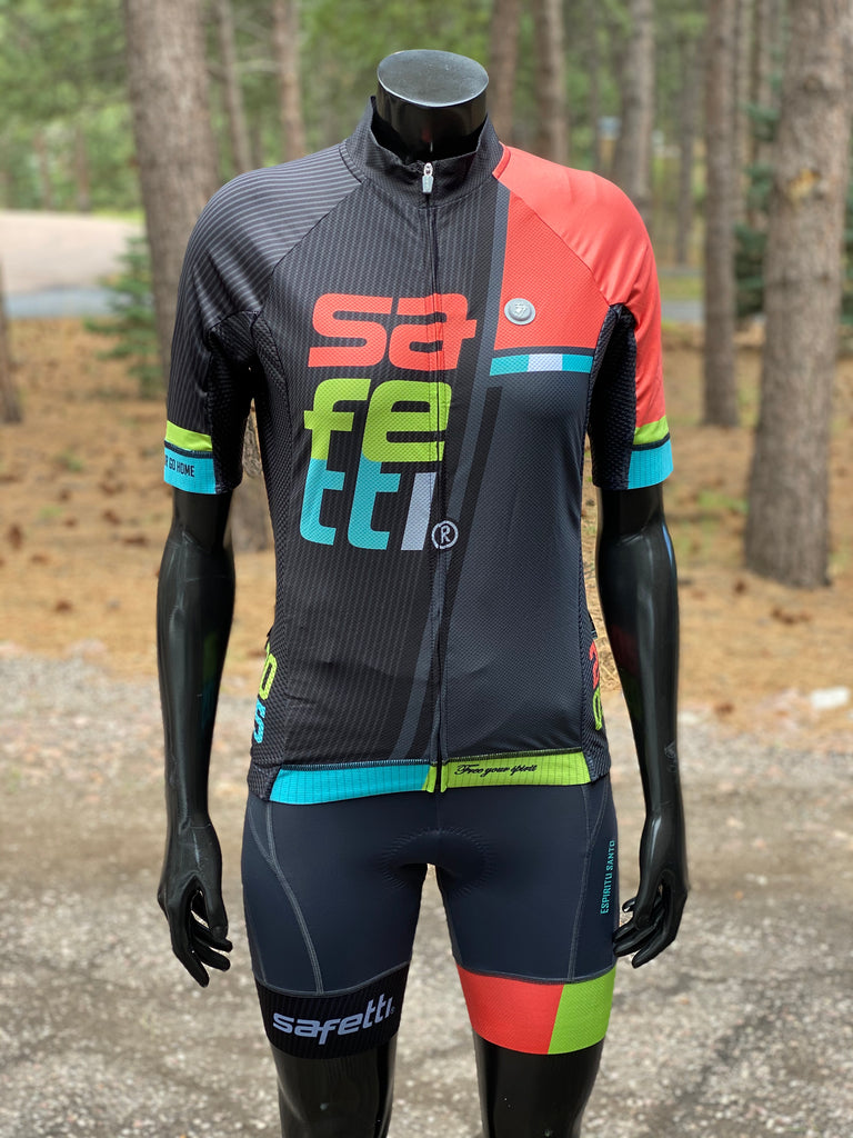 GREAT DEAL DON'T MISS IT - Safetti Retro Kit Salmone. Women SS Jersey