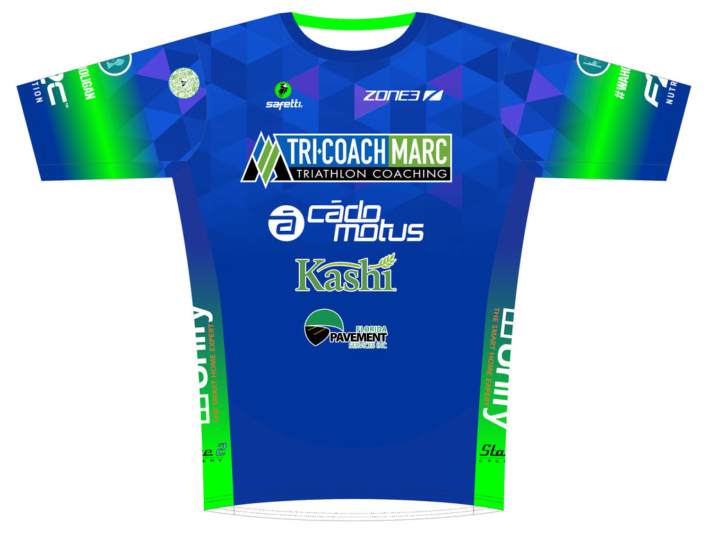 TCM - Sicilia Short Sleeve Running Jersey. Men