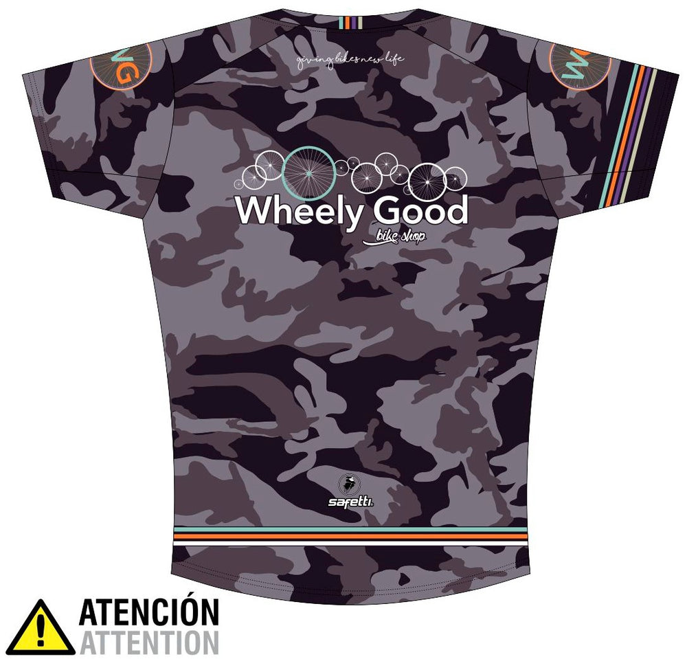 Wheely Good - Sicilia Running Shirt. Women