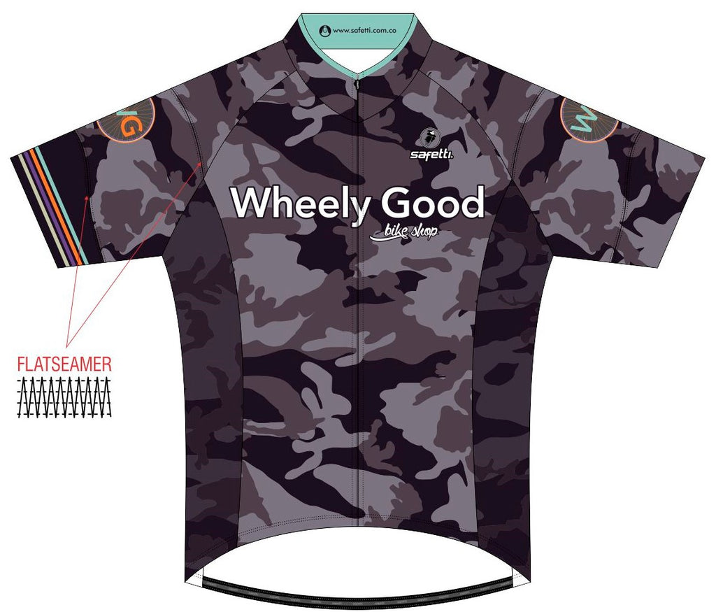 Wheely Good - Skin Jersey. Men