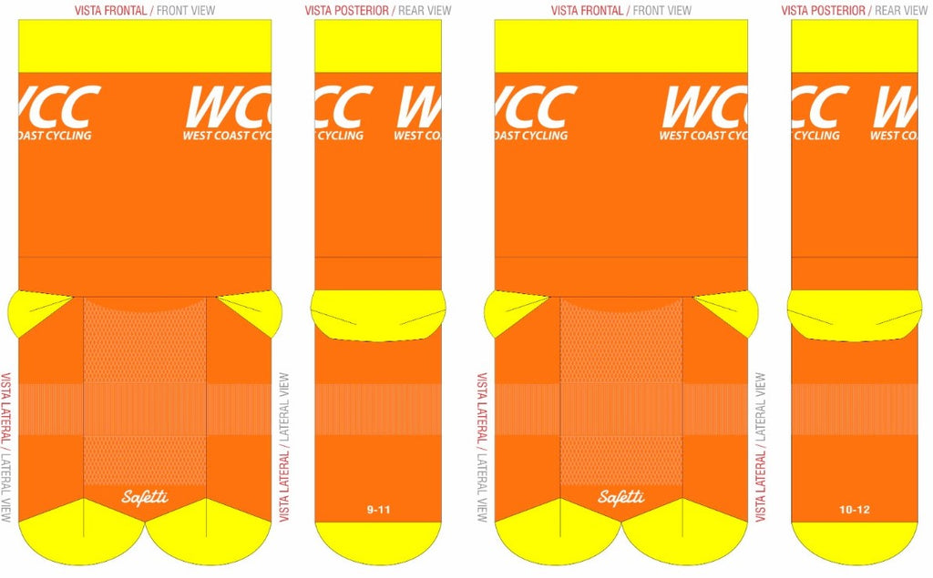 WCC - Medium rise sock. Unisex