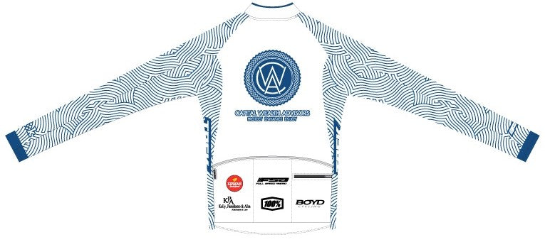 CWA Flamingo Racing - Firenze Long Sleeve Cycling Jersey. Women